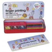 Fingeravtrykk DIY sett - Sirkus