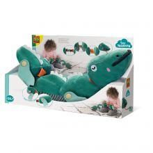 Finmotorisk krokodille - Lær lukkinger