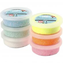 Foam Clay 6 x 14 gr. - Glitter