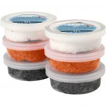 Foam Clay 6 x 14 gr. - Halloweenfarver