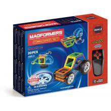 Magformers tøysete køretøyer - 20 deler