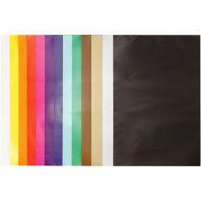 Glanspapir - Ensfarget, 50 ark