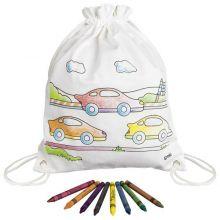 Fargelegg selv - Gympose m. biler