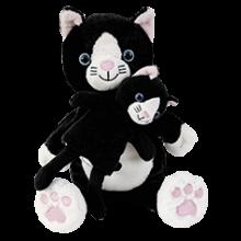 Hånd- & fingerdukke - Kattemamma med kattunge