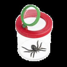 Insektsglass med dobbell forstørrelsesglass