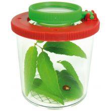 Insektsglass med forstørrelsesglass, Ø 6 cm.