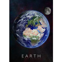 Interaktiv plakat - Jorden