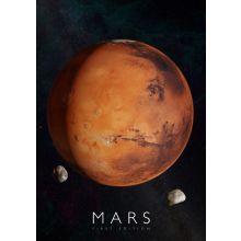 Interaktiv plakat - Mars