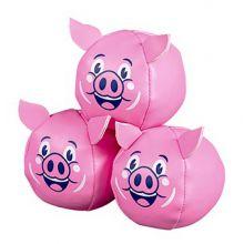 Sjonglørballer - Flygende grise, 3 stk.