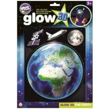 Glow 3D - Jordkloden, 4 deler