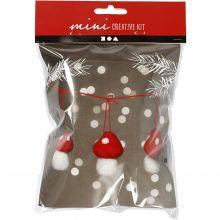 Julepose - Minisopp på snor