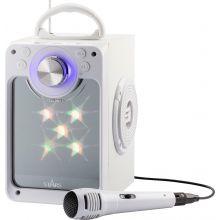Karaokemaskin m. bluetooth + lys