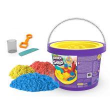 Kinetic Sand i bøtte 2,7 kg. - Inkl. verktøy