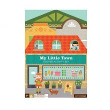 Klistremerkelek  - Min liten by