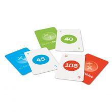Kortspill - Lær å gange og dividere
