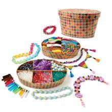 Krea-kasse - Lag smykker, 850 deler