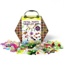 Krea-koffert - Blomster & Smykker, 850 deler