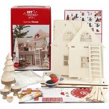 Kreativitetssett - Julenissens hus