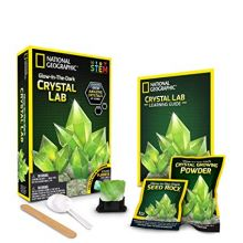 Krystalldyrkning - Glow-in-the-dark, Grønn