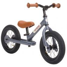 Løpesykkel Trybike med to hjul - Antracitgrå