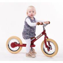 Løpesykkel Trybike med to hjul - Rød