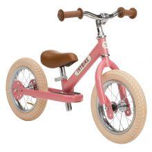 Løpesykkel Trybike med to hjul - Rosa