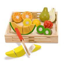 Lekemat - Frukt i trekasse