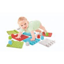 Lekesett med sansematter til baby