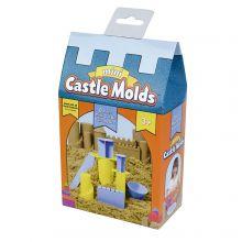 Lekesand tilbehør - Utstikksformer slott, mini