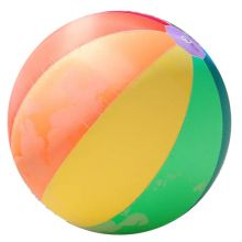 Ballongball m. overtrekk Mega
