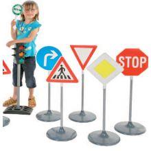 Trafikklek - Skiltesett A