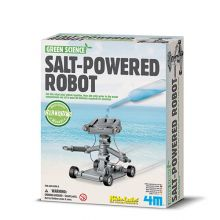 Green Science - Saltdrevet robot
