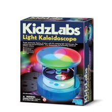 Lag et kaleidoskop med lys