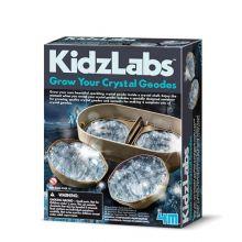 Dyrk geode krystaller