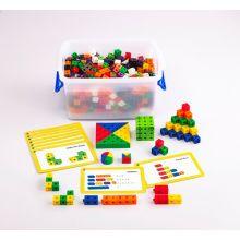 Cubes 2 cm - Klassesett m. 500 deler