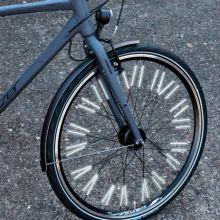 Tilbehør løpesykkel - Reflekspinner til hjul