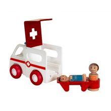 BRIO lekesett - Ambulanse med lys og lyd