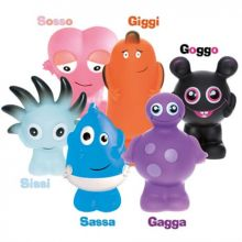 Babblarna språktrening - Plastfigurer (GS-mix)