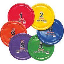 Frisbee / bløte disker - 6 stk i sett