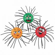 Edderkoppball - 3 stk.