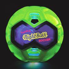 Fotball med LED lys - Ø16 cm.