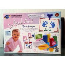 Babykunst – Malekit til hånd- og fotavtrykk