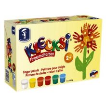 Fingermaling KLECKSi - 6 bokser