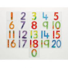 Tall med væske og glimmer 0-20