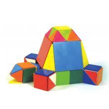 Magna-Tiles | Farget 100 stk.
