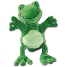 Hånddukke - Frosk