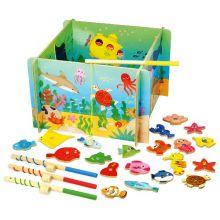 Magnetisk fiskespill - Havets dyr