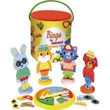 Bingo - Kle på dyrene