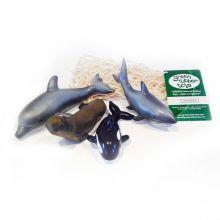 Figurer i naturgummi - Havets kjemper
