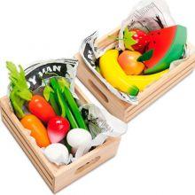 Lekemat - Kasse med frukt eller grønt